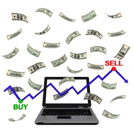 Electronic trading on the Exchange photo