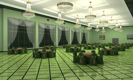 Wedding Hall in classical style