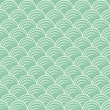 vector illustration of seamless pattern in art deco style