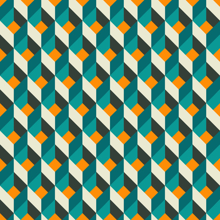 Vector illustration of abstract geometric seamless pattern  イラスト・ベクター素材