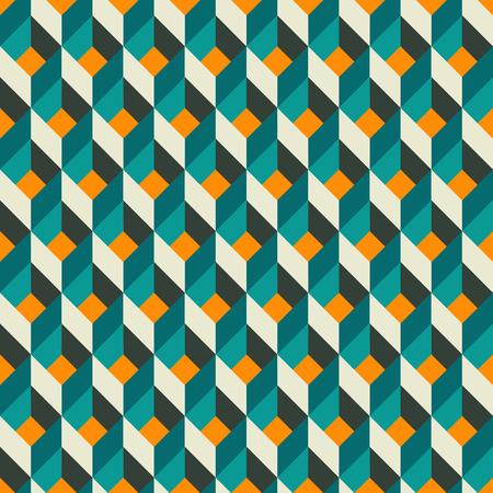 Vector illustration of abstract geometric seamless pattern Ilustrace