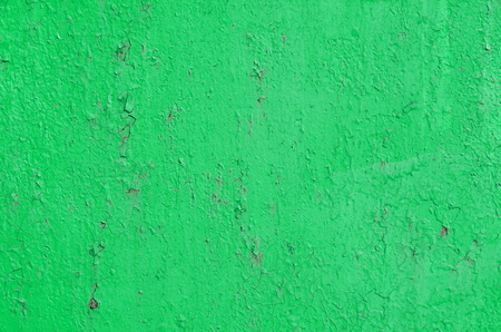 Texture of vintage painted iron wall background with many layers of paint Stock Photo