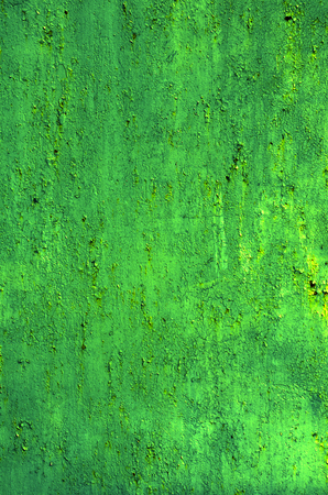oxidize: Texture of vintage painted iron wall background with many layers of paint Stock Photo