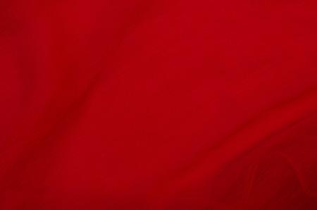 gauzy: Background of chiffon gauzy red scarlet vivid fabric