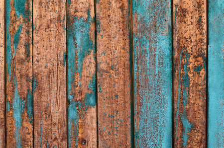 Painted old fence texture