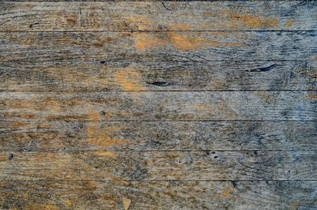 Cracked weathered blue painted wooden board texture