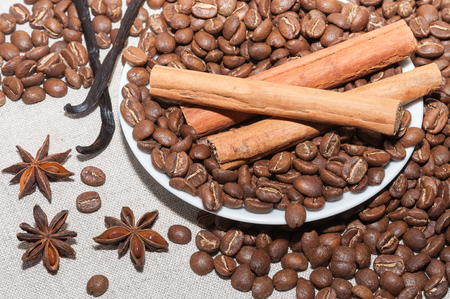 stimulant: Ingredients for making coffee