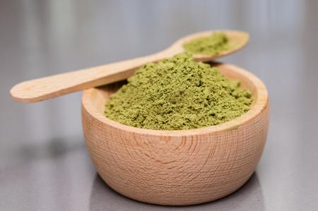 enzymes: Bolw of wheat grass powder