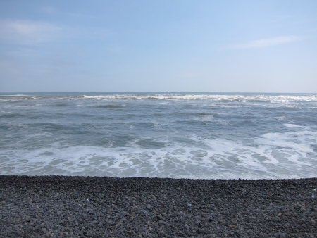 miraflores: Miraflores Beach Stock Photo