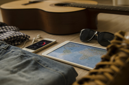 ray ban: trip, traveling , vocation  Stock Photo