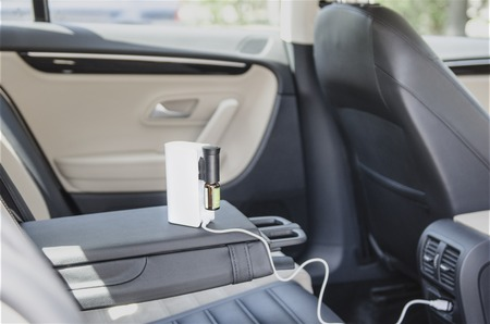 air humidifier on charge in car