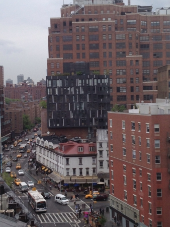 uitzicht Meatpacking District nyc Stockfoto