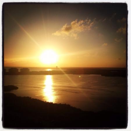 csncun sunset 版權商用圖片
