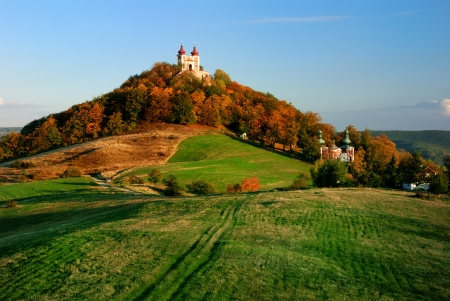 Calvario en Banska Stiavnica, Eslovaquia