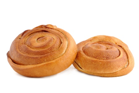 Sweet bun with cinnamon