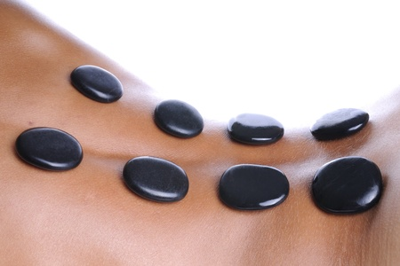 Massage - lava stone