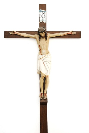 Crucified Jesus Christ Stock Photo