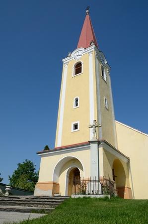 Chiesa cattolica nel villaggio Malzenice, Slovacchia