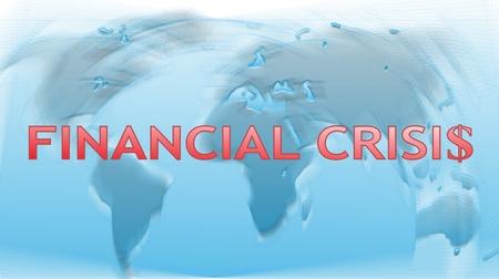 Financial crisis photo