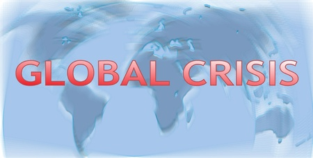 Global financial and economic crisis Stock Photo