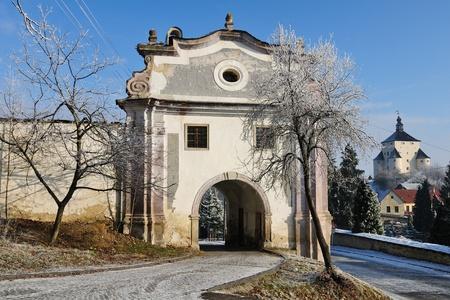 Banska Stiavnica - storico Piarg cancello, Slovacchia