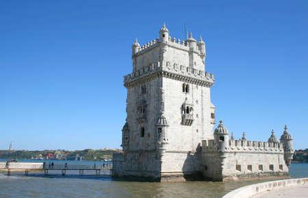 belem: Torre de Belem in Lisbon