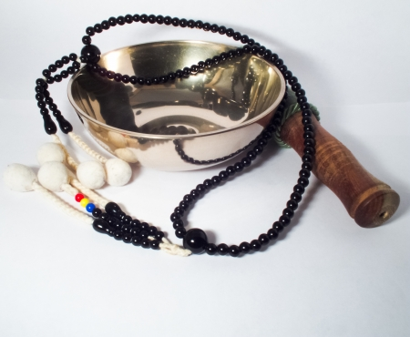 japanes: bell and japanes rosary