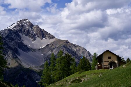 refuge in the mountains