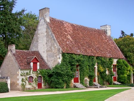 A pintoresque old french country house Stock Photo - 416905