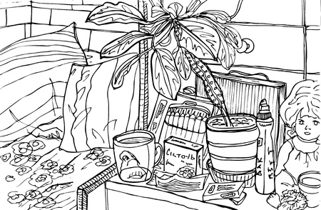 week end: L�piz ilustraci�n de la enfermedad y la enfermedad