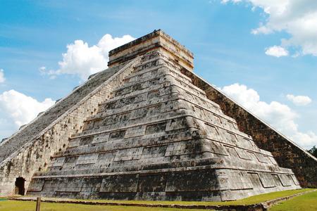 itza: chichen itza pyramids