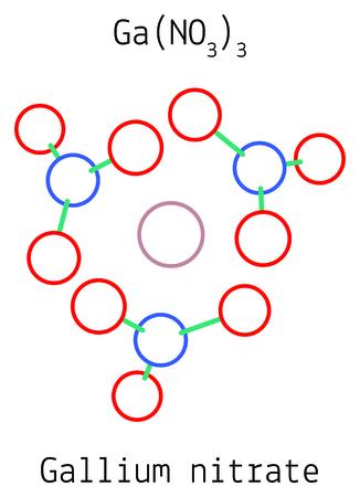 Gallium nitrate GaN3O9 molecule