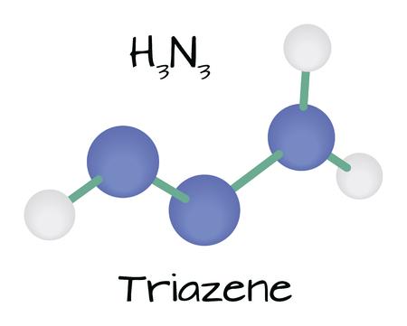 molecule H3N3 Triazene