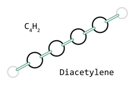 molecule C4H2 Diacetylene