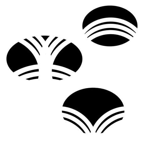 Design elements, symbols, logo business Vector illustration.