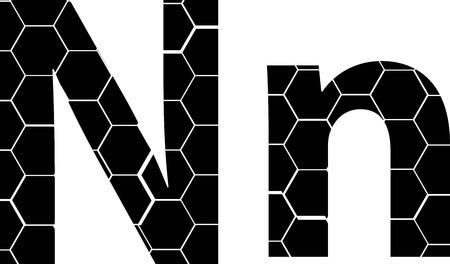 Simple vector alphabet of honeycombs