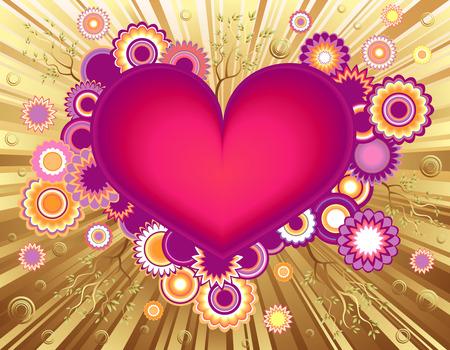 Valentino cuore Greeting Card
