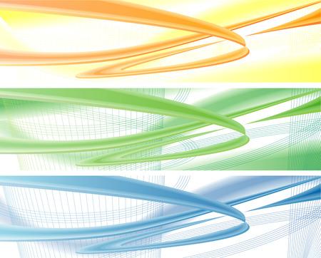 Blu, giallo e arancione moderno, dinamico, business sfondi