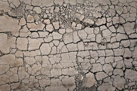 Crepe sulla terra secca