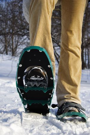 Snow shoes / Rackets Stock Photo - 4107160