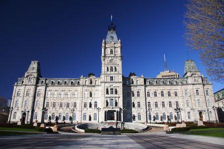 national culture: Quebec parliament building (H�tel du Parlement), Quebec City, Canada Stock Photo