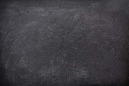 Blackboard / chalkboard texture. Empty blank black chalkboard with chalk traces Stock Photo - 9097584