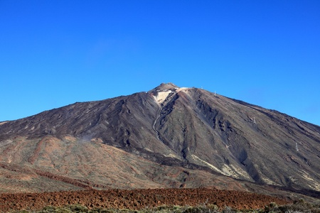 Teide, Tenerife, Canary Islands, Spain. The icon of the Canary Islands: the volcanoTeide. Stock Photo - 9097592
