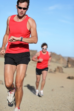 Two male runners Stock Photo - 9981817
