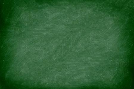 leeg bord: Krijtbord  schoolbord groen. Lege blanco met kopie ruimte voor krijt tekst. Gebruikt voelen met krijt sporen en grote textuur. Van Photo.