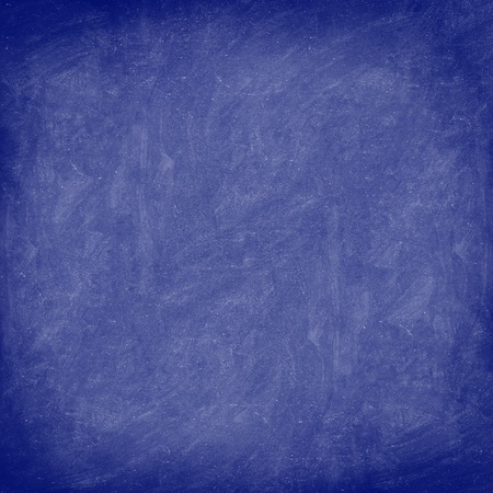 Texture - blue chalkboard / blackboard background closeup. Stock Photo - 10916754