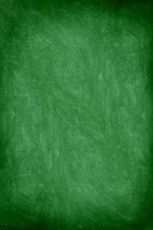 close up of empty school chalkboard  green blackboard. Great texture. Photo. photo