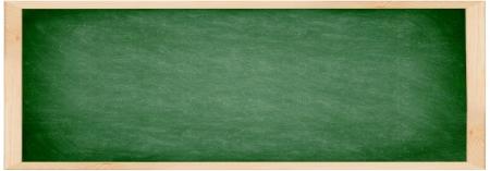 Chalkboard / blackboard banner. Close up of empty school chalkboard / green blackboard. Great texture. Photo. Stock fotó