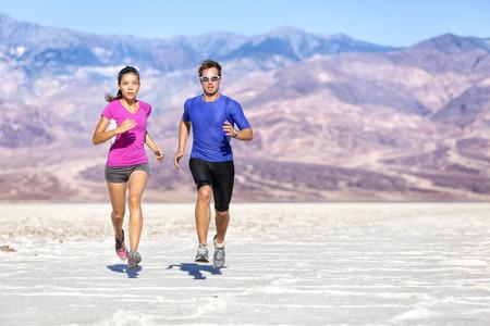 Running Fitness people.