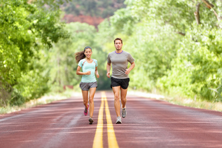 Running Health and fitness. Stok Fotoğraf - 44400112